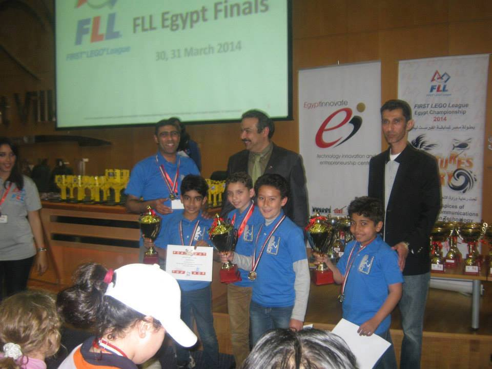 The Future Heroes Special Awards in FLL Nature`s Fury 2013